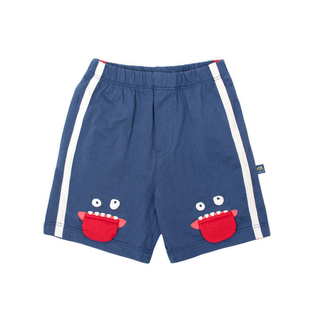 Alphabet Monster Organic Shorts