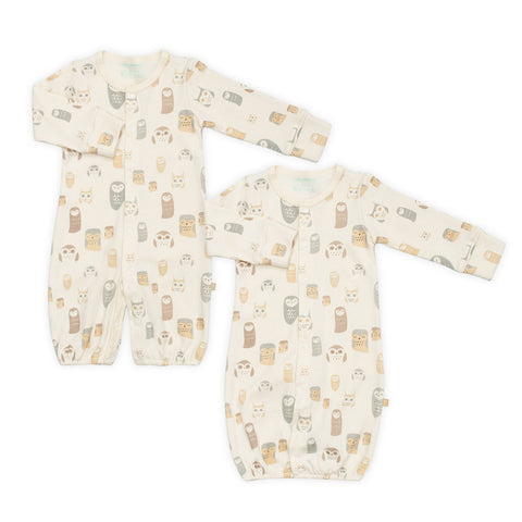 Night Owl Organic 2-in-1 Sleeping Gown