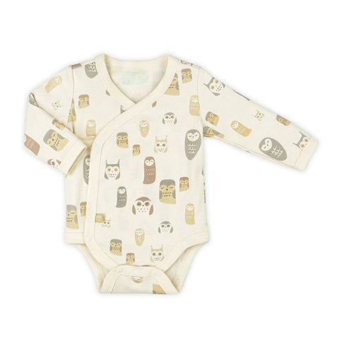 Night Owl Organic Long Sleeve Bodysuit