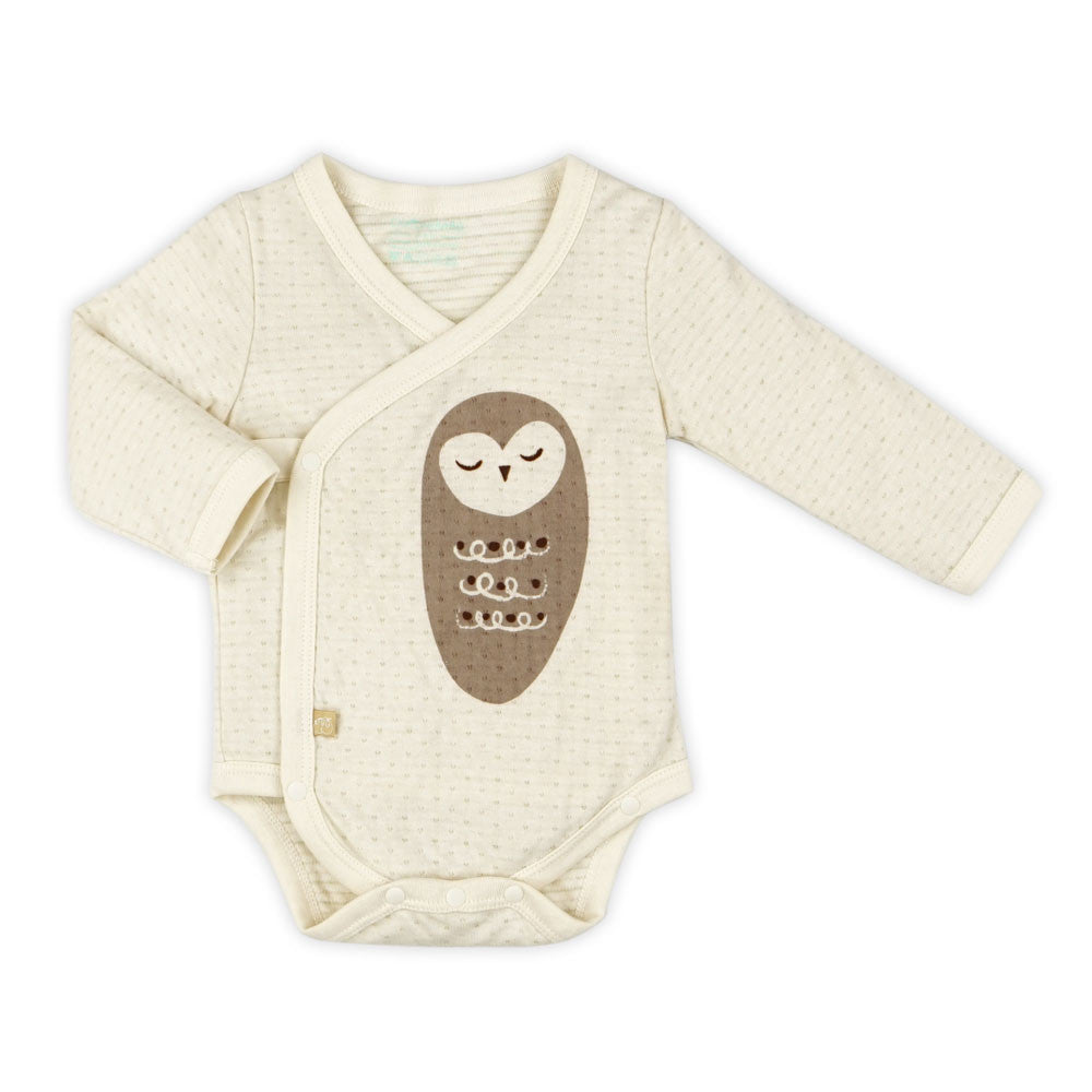 Night Owl Organic Stripe Bodysuit