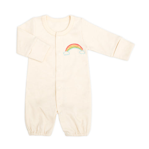 Little Rainbow Organic 2-in-1 Sleeping Gown