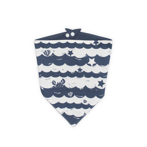 Sea Stripes Bandana Bib