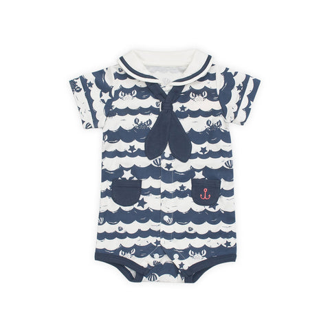 Sea Stripes Bodysuit
