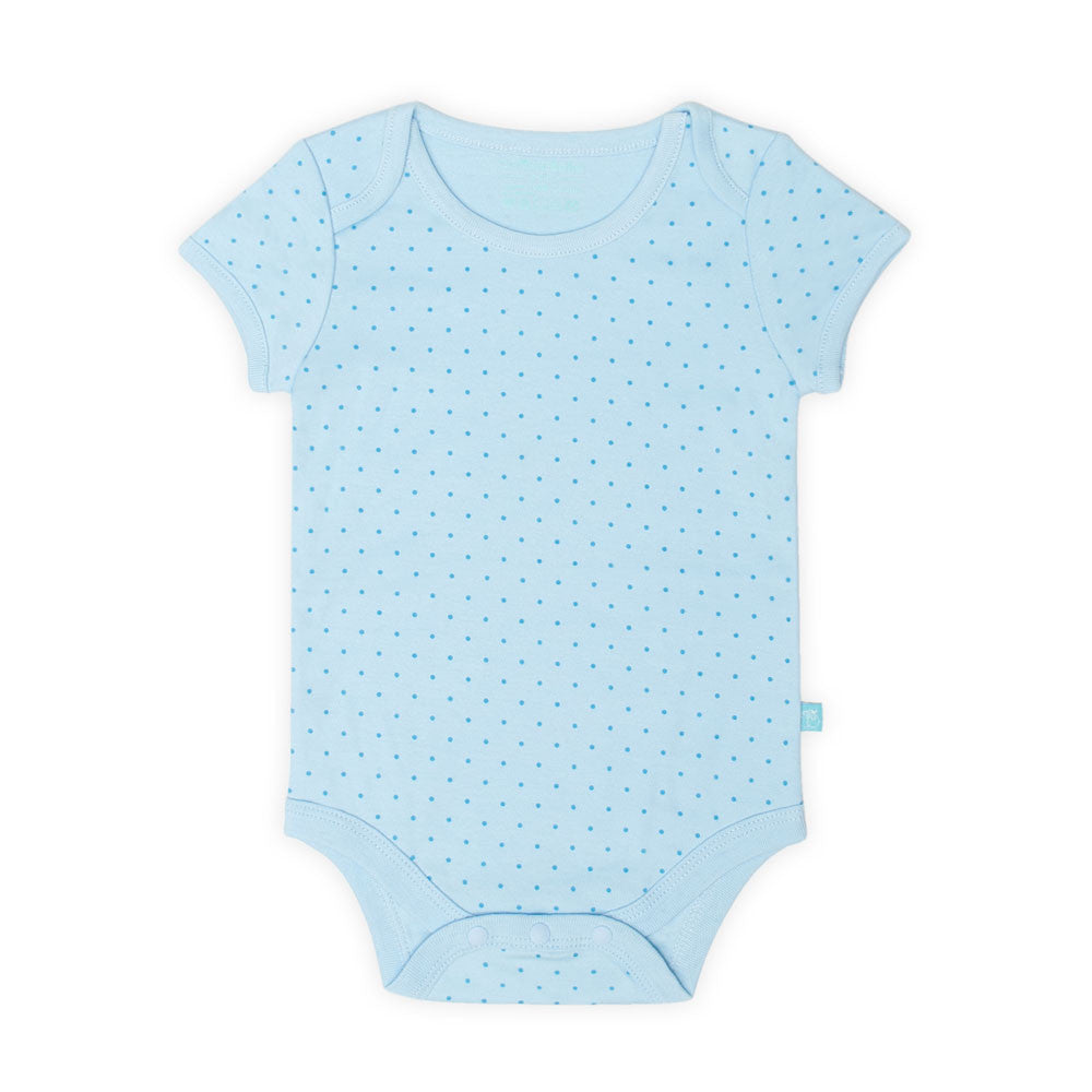 Polka Dot Short Sleeve Bodysuit