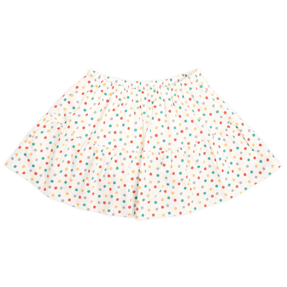 Strawberry Dot Skirt