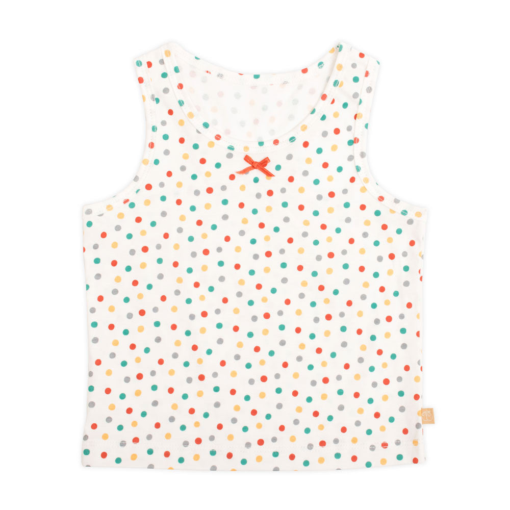 Strawberry Dot Tank Top