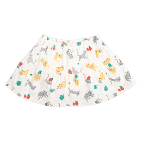 Strawberry Cat Skirt
