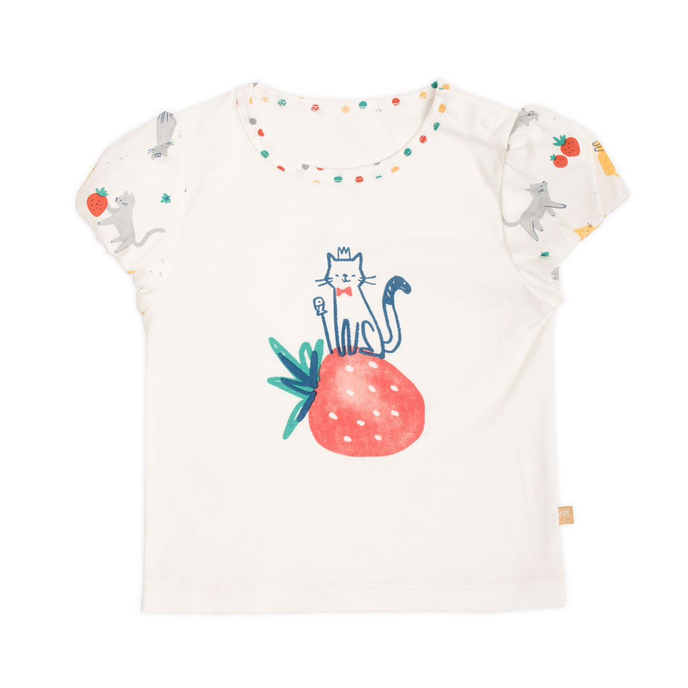 Strawberry Cat Tee