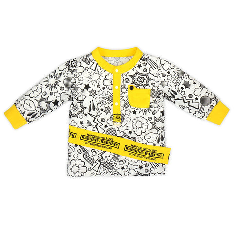 Super Baby Long Sleeve Tee