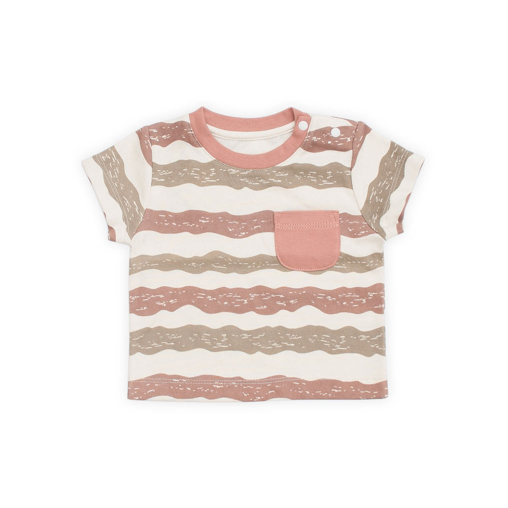 Under the Sea Organic Stripe Tee