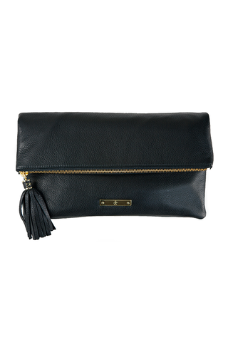 CONVERTIBLE CLUTCH: Black