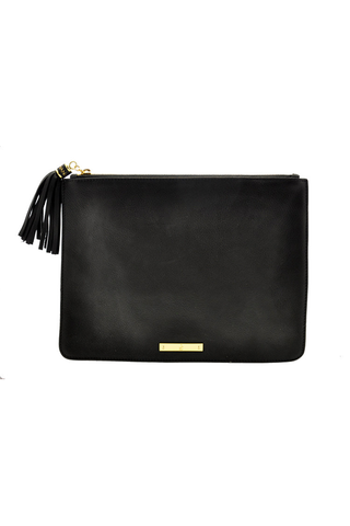 ON THE GO POUCHETTE: Black