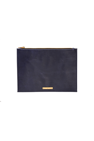 ON THE GO POUCHETTE: Navy