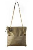 CONVERTIBLE CLUTCH: Olive Green