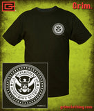 THE DEPARTMENT OF HOMEGROWN SECURITY ~ DHS ~ FRONT AND BACK