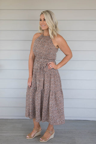 Brighton Dress in Chocolate