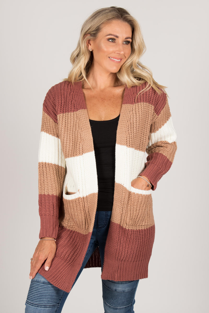 Lotus Cardi in Rust/Tan