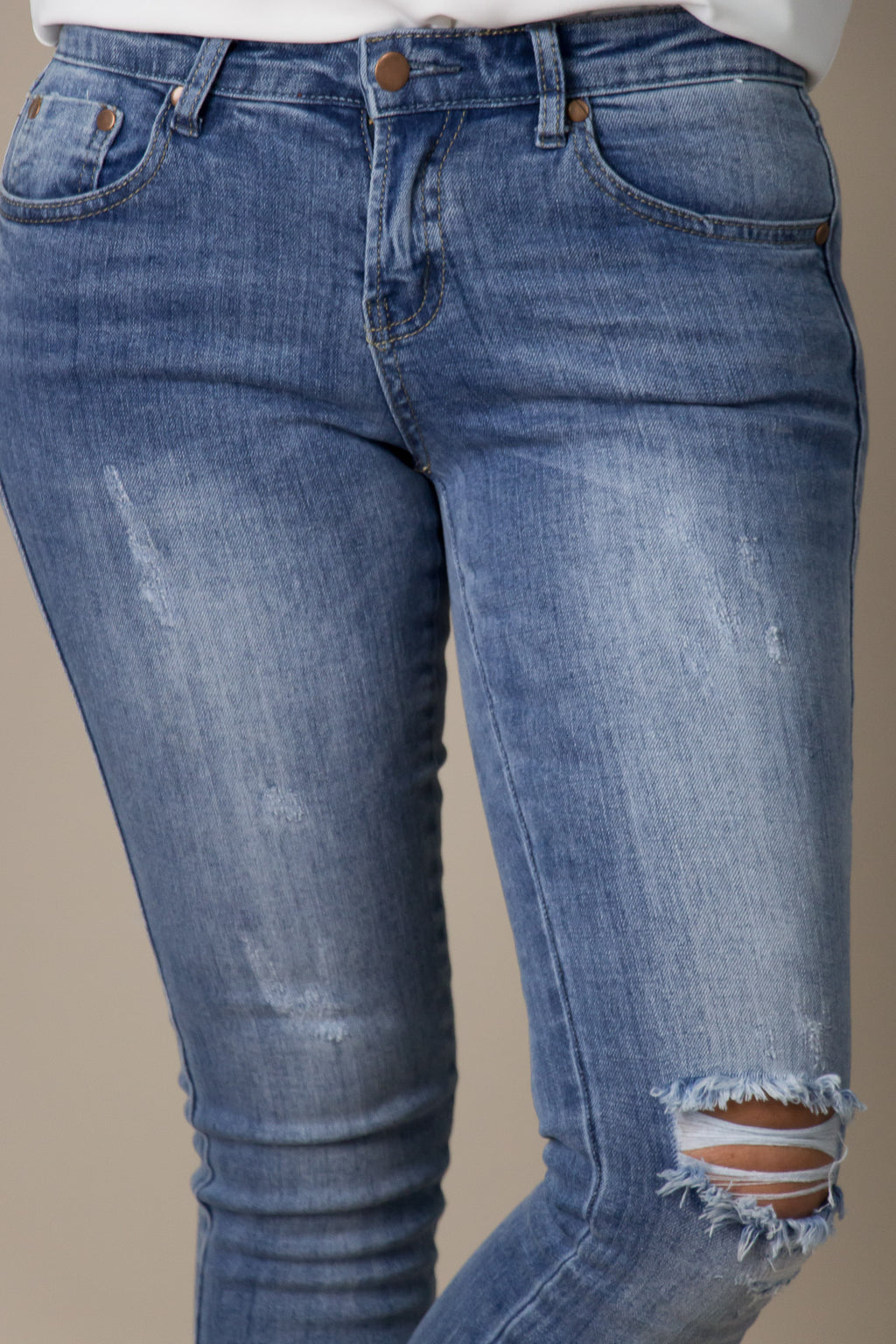 McKenna Distressed Jeans