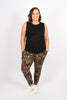 Lounge Pants in Dark Leopard