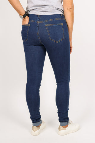 Maison Stretch Jeans Dark