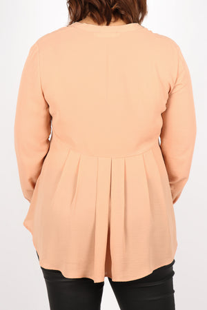 Royal Meghan Blouse in Apricot