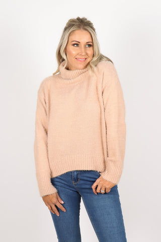 All About Me Knit in Blush Pink