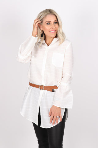 Sorento Shirt in White