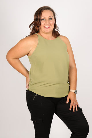 Carly Top in Pine