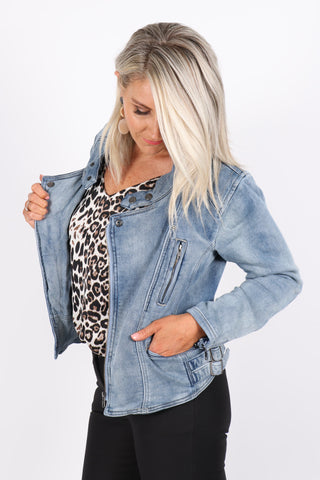 Society Denim Jacket
