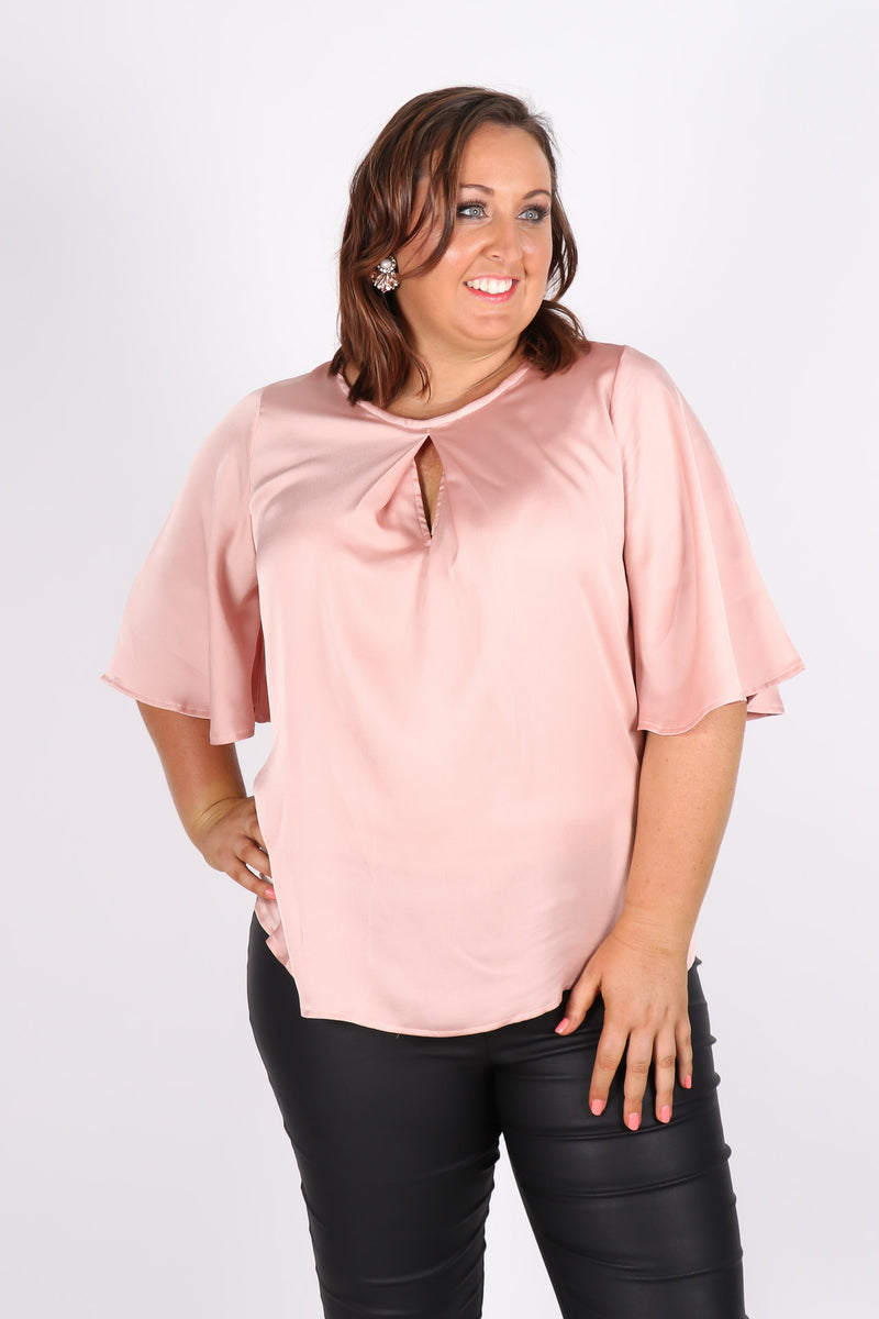 Savoy Top in Blush