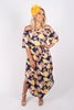 Freemantle OTS Dress in Navy Sunset