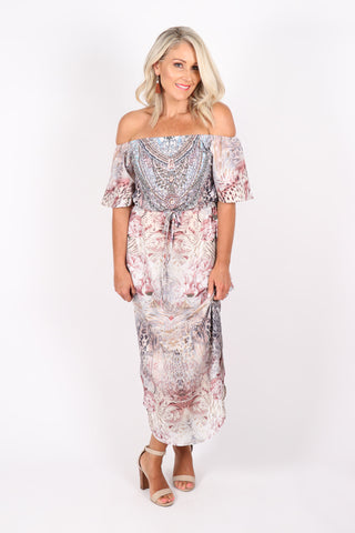 Cypress OTS Dress in Savannah Rose