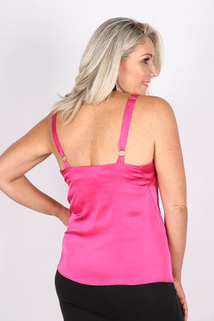 Andrea Singlet in Hot Pink