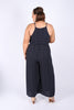 Sortel Jumpsuit in Navy Spot