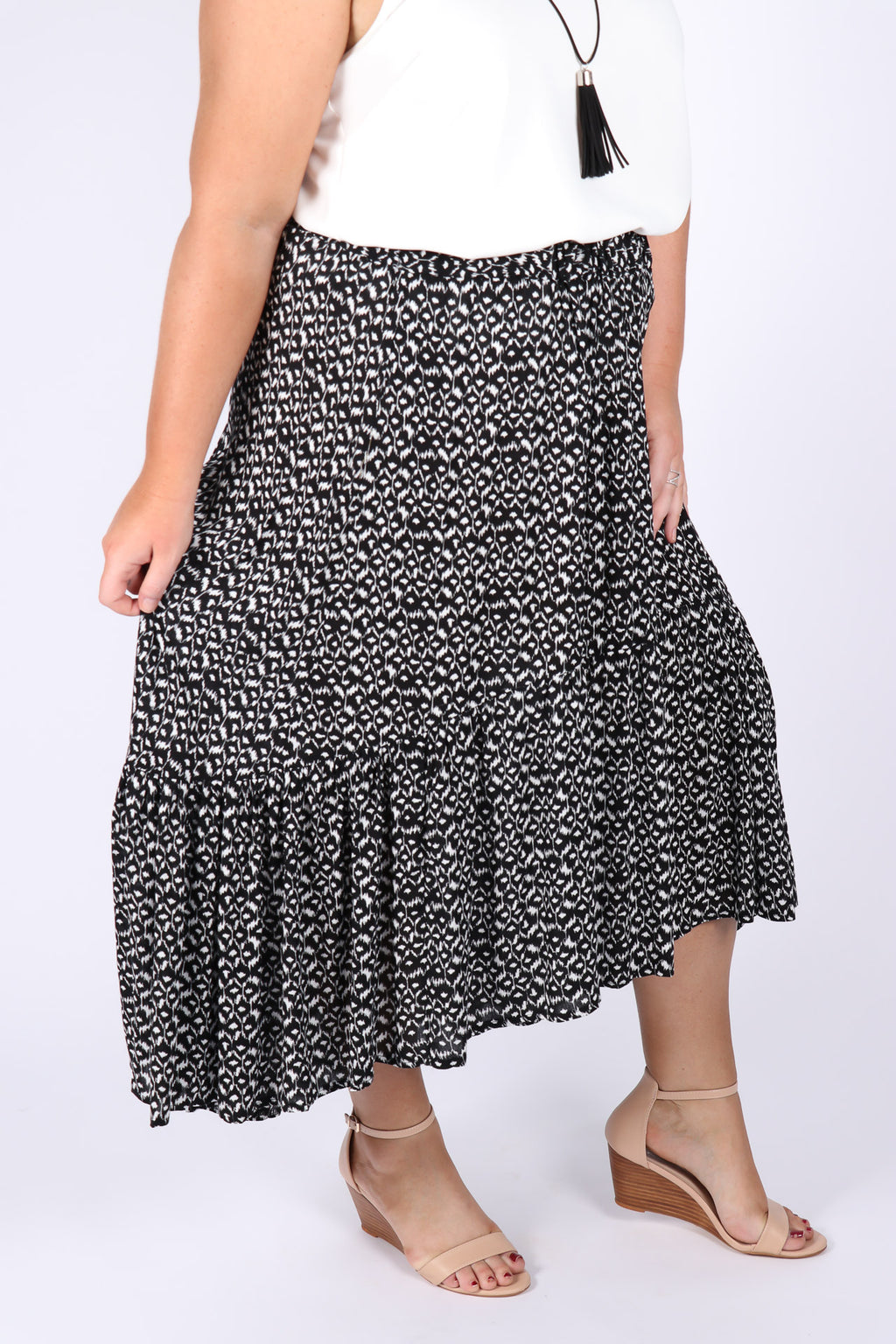 Shoalhaven Skirt in Black