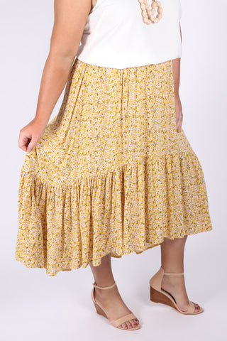Shoalhaven Skirt in Yellow