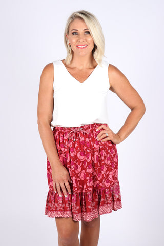 Amelie skirt in Pink Fusion