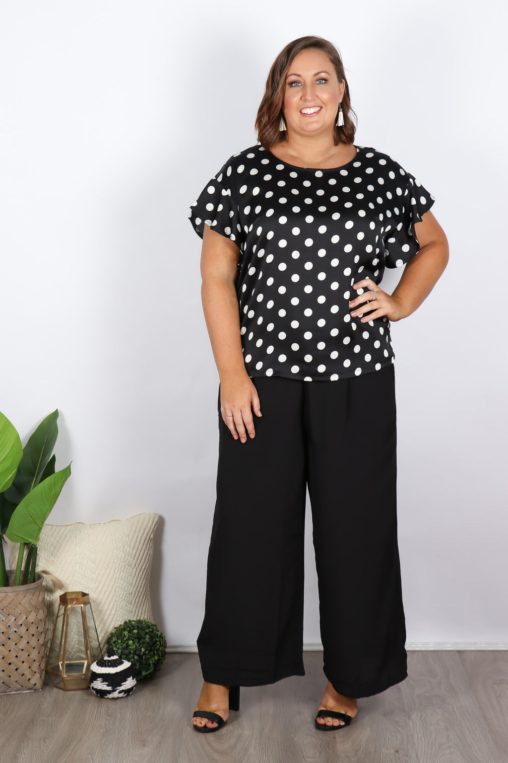 Anita Top in Black