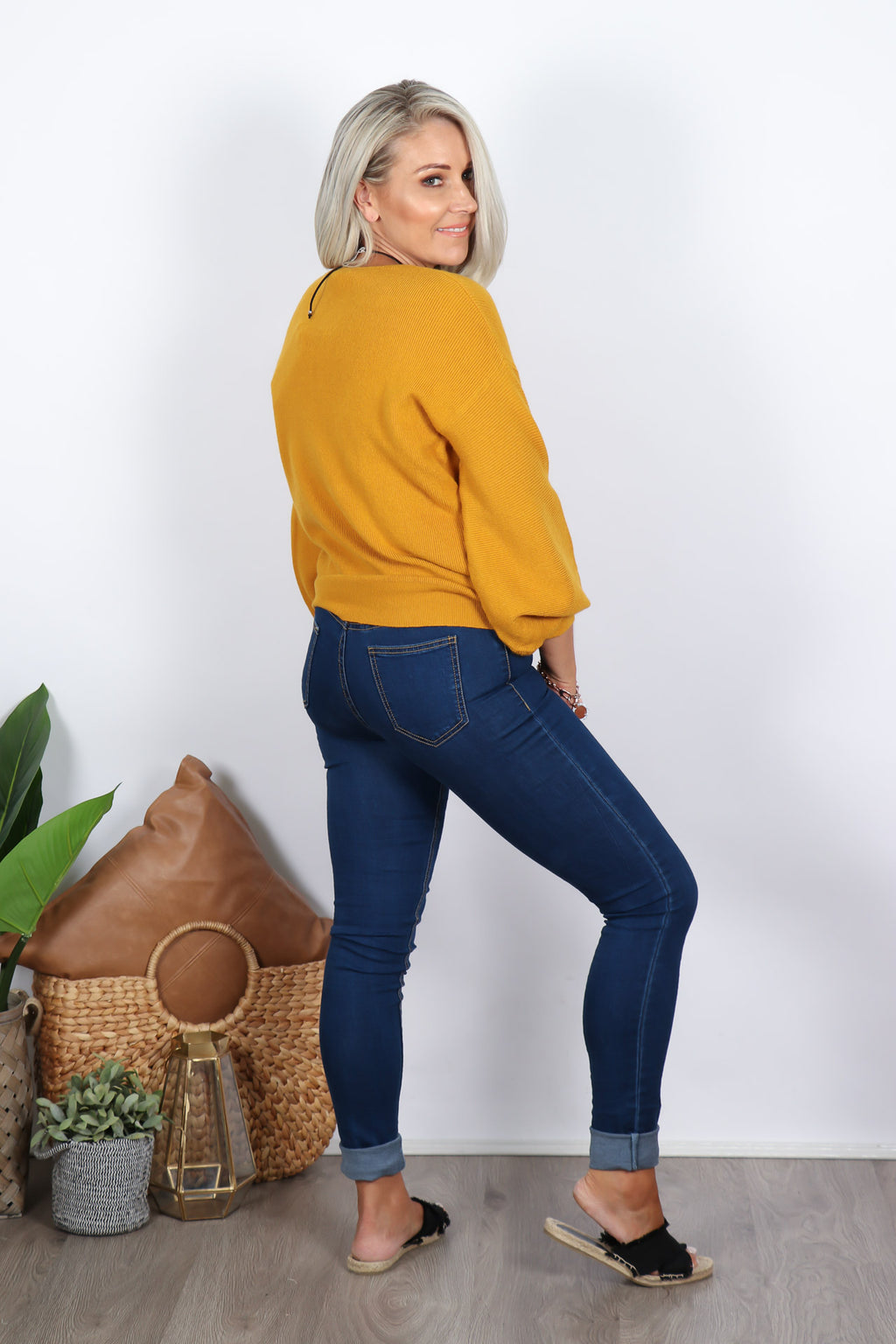 Dexter Knit in Mustard