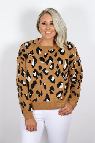 Freeman Jumper in Camel