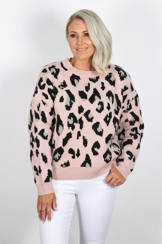 Freeman Jumper in Blush