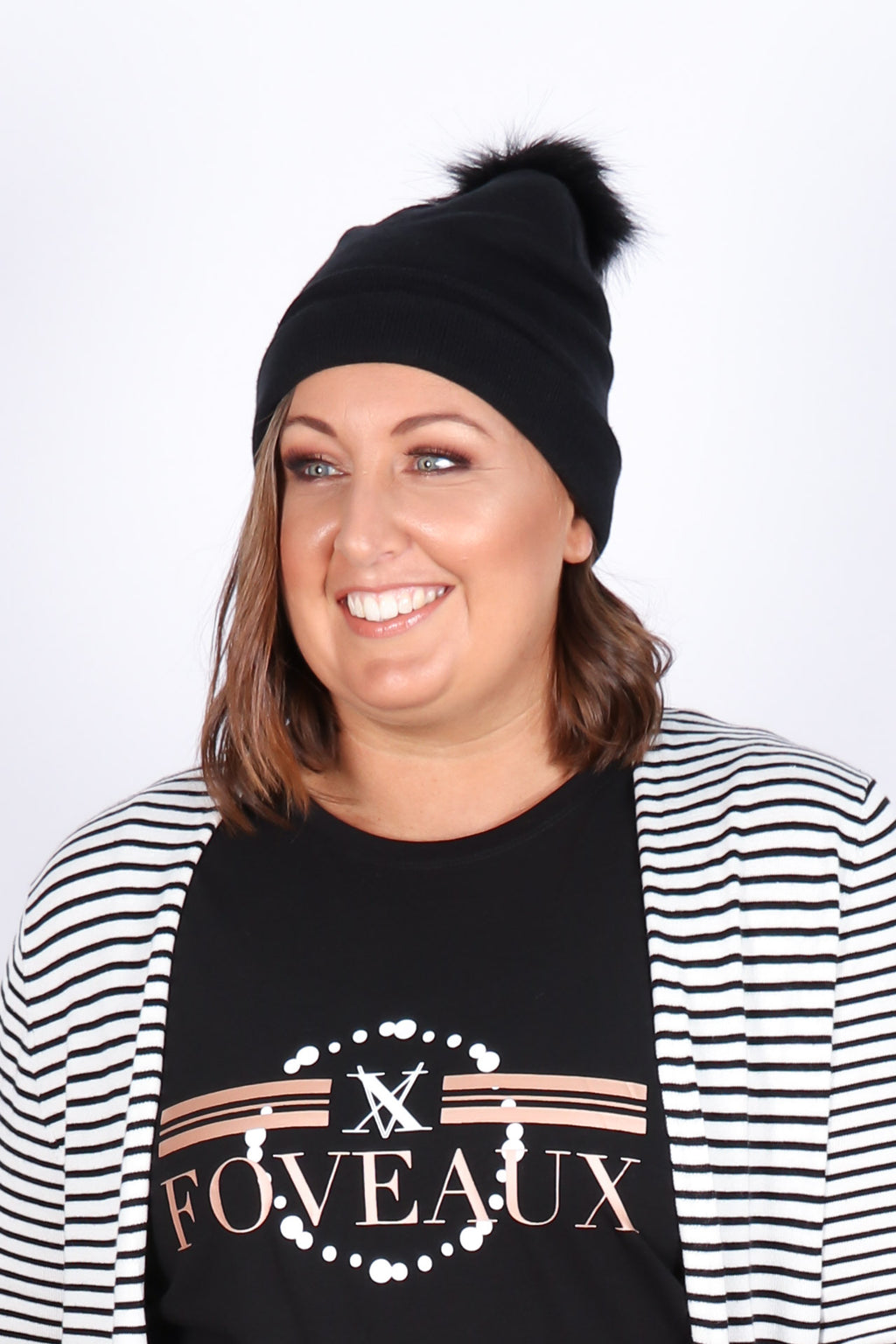 Harper Beanie in Black
