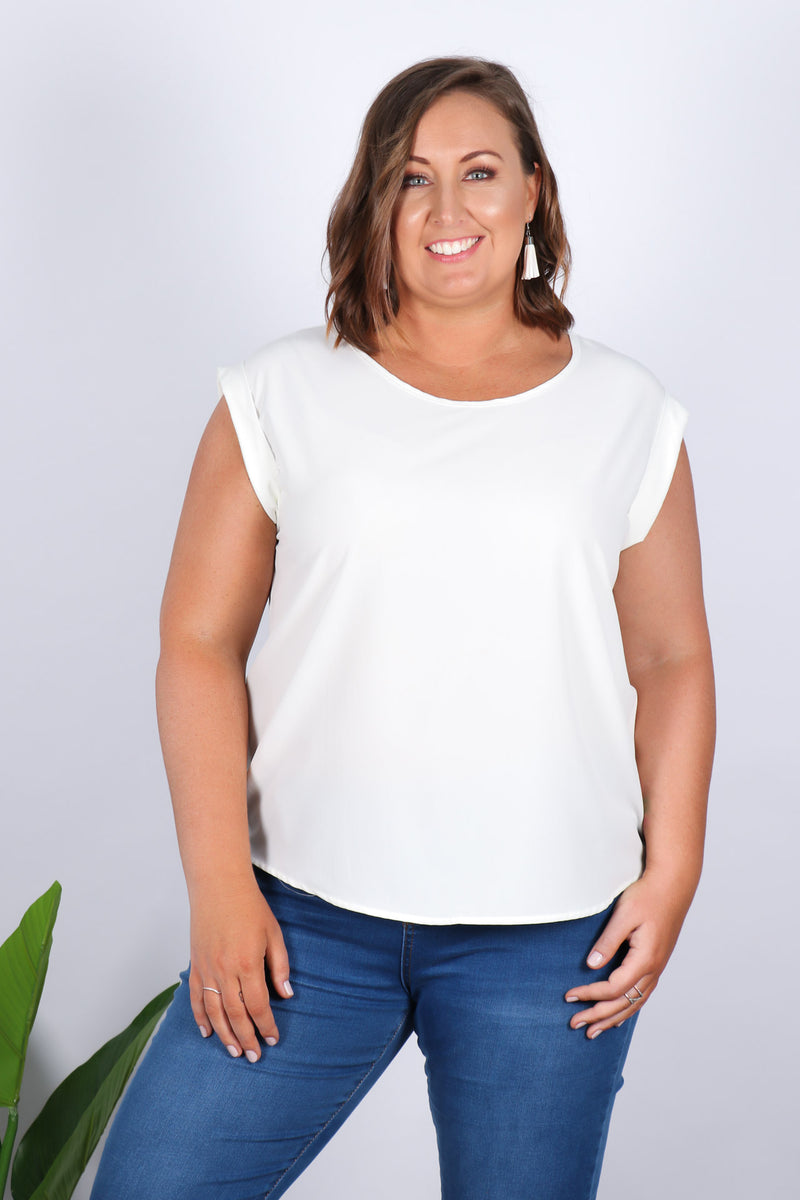 Basic Lover Top in White
