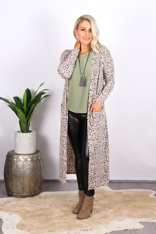 Shona Lightweight Cardi in Blush