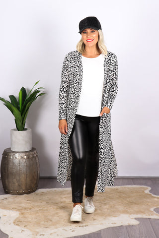 Shona Lightweight Cardi in White