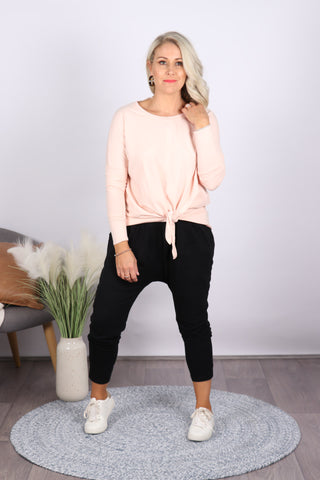 Willow Knot Top in Blush