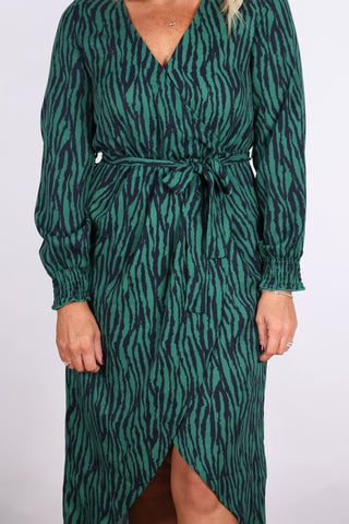 Brunswick Dress in Emerald