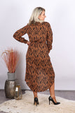 Brunswick Dress in Caramel
