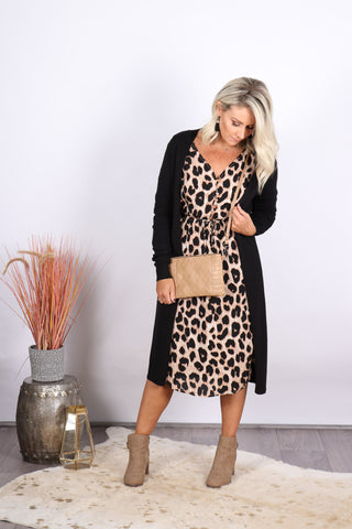 Oatley Dress in Animal
