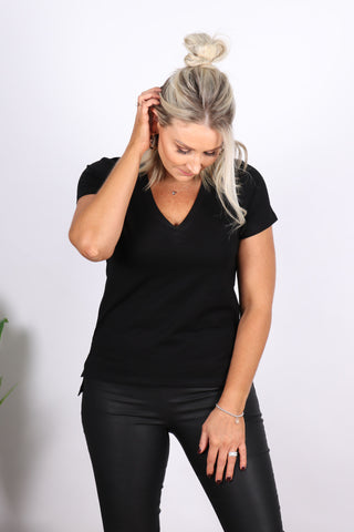 Penny Tee in Black